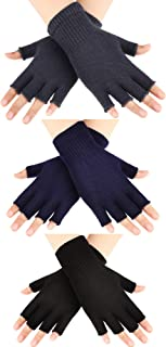 woolen fingerless gloves