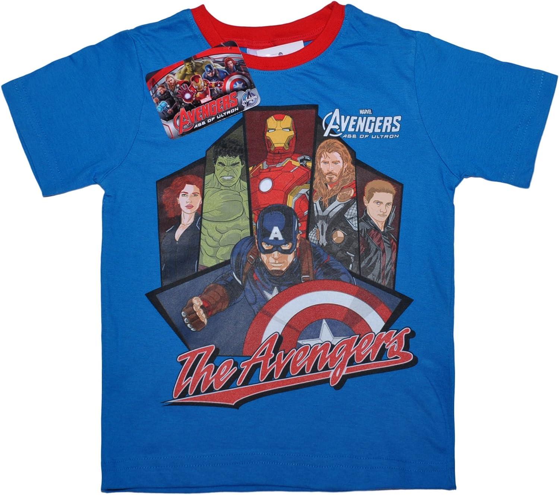 MARVEL Pijama oficial de los Vengadores Age of Ultron Foto principal para ilustrar Iron Man Hulk Thor Captain America Pijamas