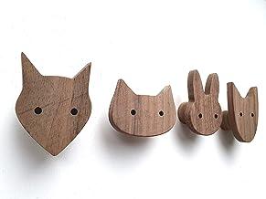 Gancio da Appendere al Muro a Parete Accessori per Casa Cucina 3 Pezzi di Gancio Attaccapanni Decorativo di Testa d/'Animale