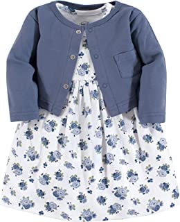 Baby and Toddler Girl Dress and Cardigan