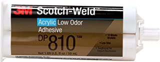 3M Scotch Weld Epoxy - Acrylic Adhesive DP-810 Tan