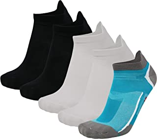 DANISH ENDURANCE Low-Cut Running Socks 5-Pack for Men & Women, Athletic Socks for Sports, Sneakers, Fitness, Gym