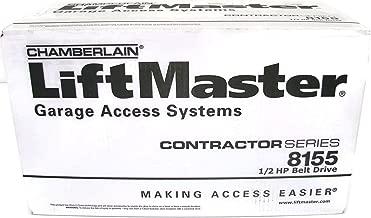 LiftMaster Contractor Series 8155 1/2HP Belt Drive Garage Door Opener WithOut Rail