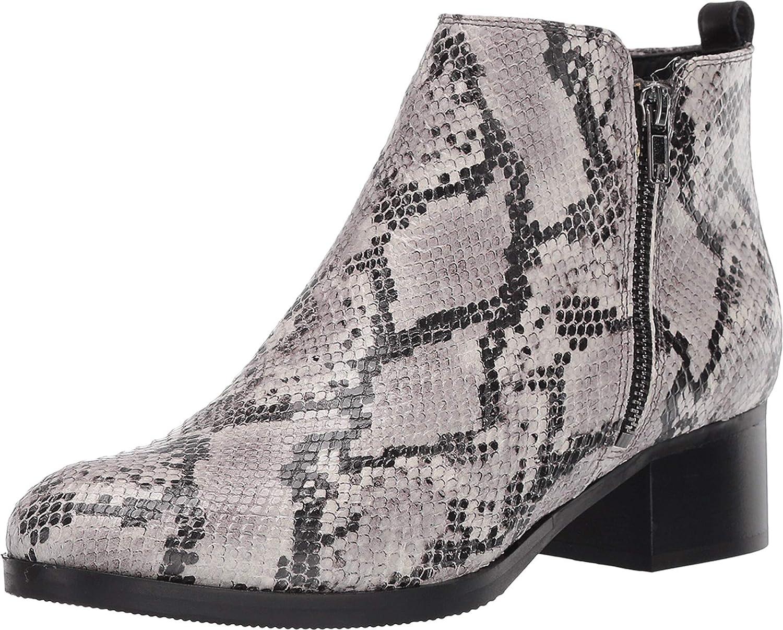 Ladies Clarks Smart Slim Heel Zip Up Leather Ankle Boots Dancer Sky