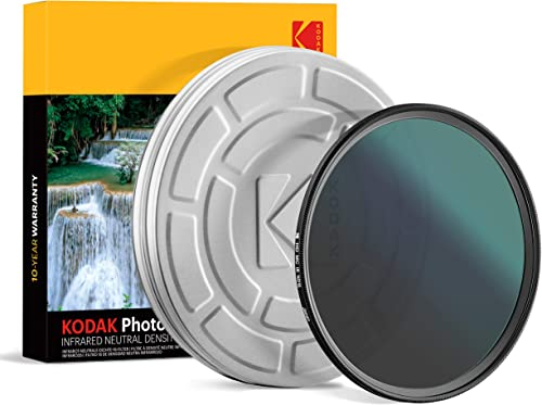 high quality KODAK IR online Neutral Density Filter ND16 Filter Stops Overexposure Reduces Depth of Field Captures Motion Reduces Infrared for Color Accuracy, Slim, Nano wholesale Multi-Coated 16-Layer Glass w/Mini Guide | 72mm outlet sale