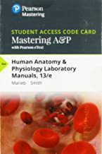 Mastering A&P with Pearson eText -- Standalone Access Card -- for Human Anatomy & Physiology Laboratory Manuals (13th Edition)