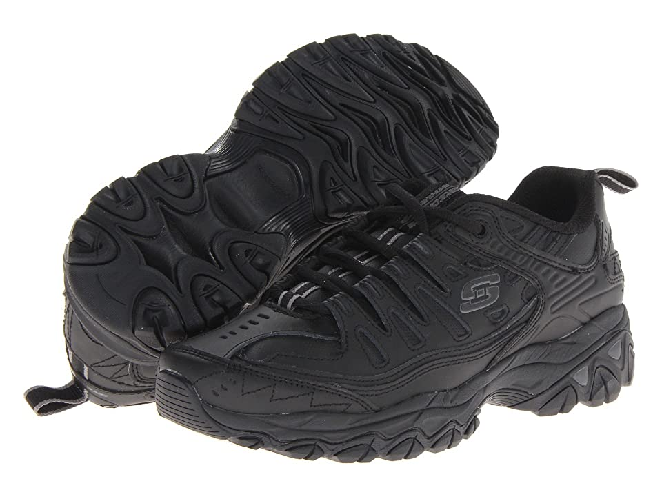 SKECHERS Afterburn M. Fit Reprint (Black) Men