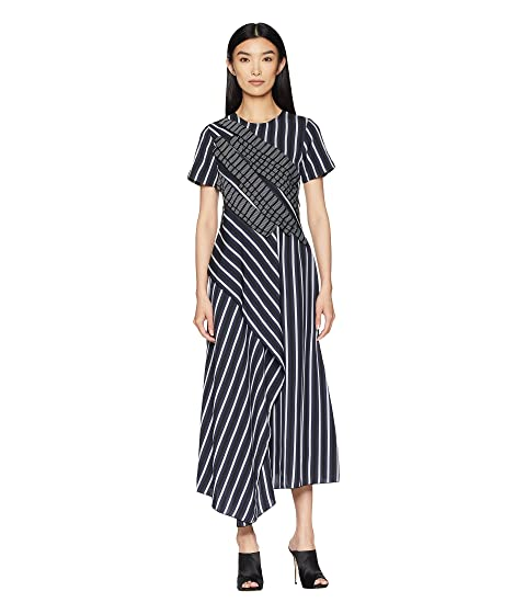 Sportmax Texas Short Sleeve Long Dress