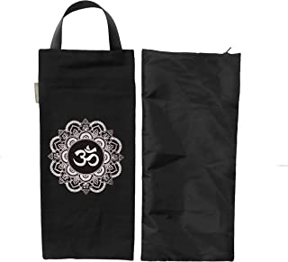 Yoga Sand Bag - Cotton Unfilled for Yoga Weights and Resistance Training, OM Design