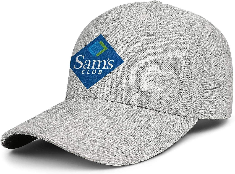 Unisex Baseball Cap Logo Adult SAMS-Club-Logo- Adjustable Flat Cap Sun Hat : Clothing, Shoes & Jewelry