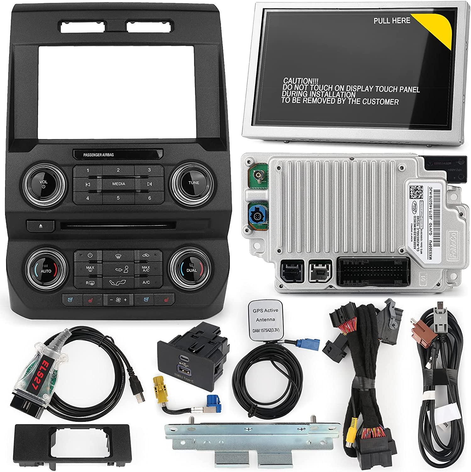 4''to 8'' Challenge the lowest price of Japan SYNC 1 to 3 price Upgrade Apply F150 Kit 2014-2 Ford