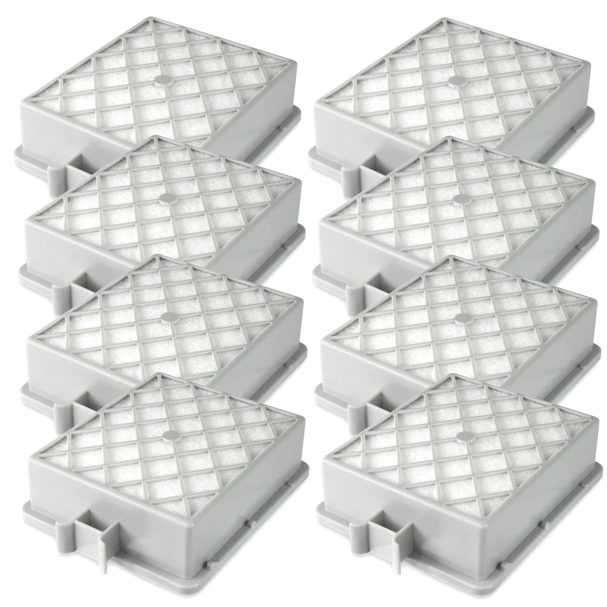 8 filtros Hepa para Lux Electrolux Intelligence S115, filtro de larga duración, salida de aire: Amazon.es: Hogar