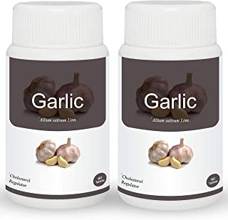 Herb Essential Garlic 500Mg Tablet - 60 Count (Pack of 2)