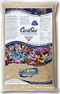 CaribSea Arag-Alive 20-Pound Special Grade Reef Sand, Bahamas Oolite