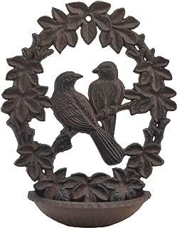 cast iron love birds