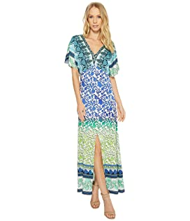 Meeting of the Minds Stretch Satin Woven Maxi Dress