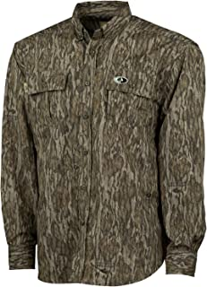 Mossy Oak Camo Lightweight Hunting Shirts for Men Long Sleeve Camouflage Clothing