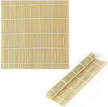 LUTER 9x9.5 Zoll natürlicher Bambus Sushi Matte Sushi Herst