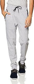 Southpole mens Bt Tech Fleece Jogger Pants With Zipper Details Sweatpants