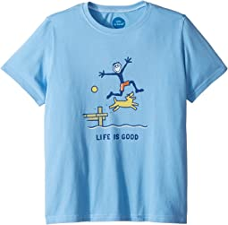 Dock Jump Crusher T-Shirt (Little Kids/Big Kids)
