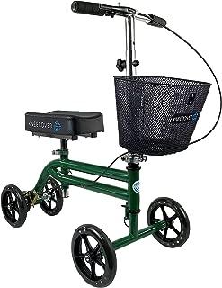 KneeRover Steerable Knee Scooter Knee Walker Crutches Alternative in Green