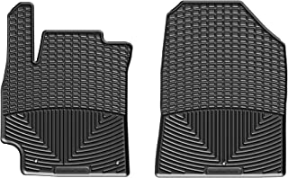 WeatherTech All-Weather Floor Mats for Hyundai Elantra - 1st Row (Black)