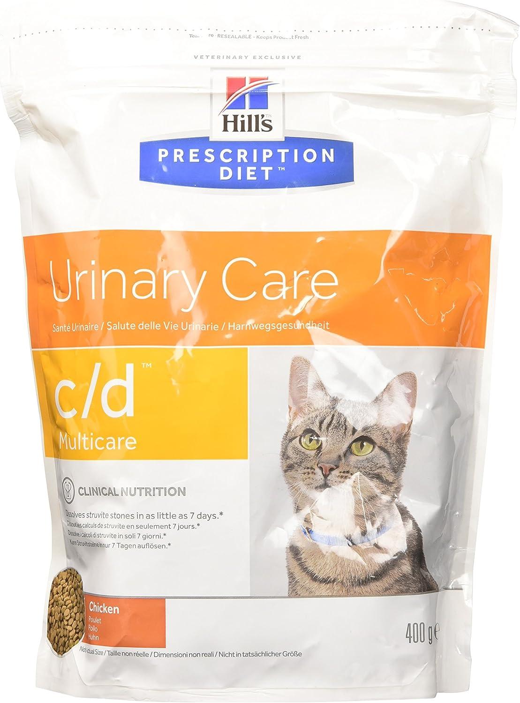 Hill's Feline C/D Chicken Comida para Gatos - 400 gr