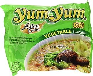 comprar comparacion Yum Yum Instant Noodles Vegetable - 5 Paquetes de 10 x 60 gr - Total: 3000 gr