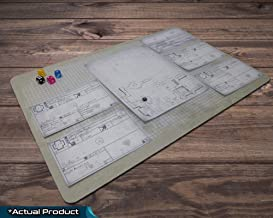 Four Against Darkness Playmat | Custom Designed Play Sheets File Download Sent Digitally After Purchase | Neoprene Play Mat Custom Design 18