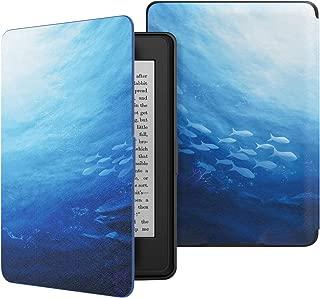 ATiC Amazon Kindle Paperwhite専用スーパー軽量薄型ケース (オートスリープ機能付き 2012/ 2013/ 2015/2016/マンガモデル適応) Ocean