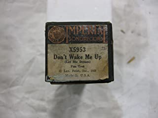 Don't Wake Me Up - Player Piano