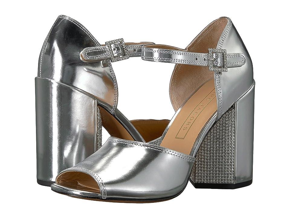 Marc Jacobs Kasia Strass Sandal (Silver) Women