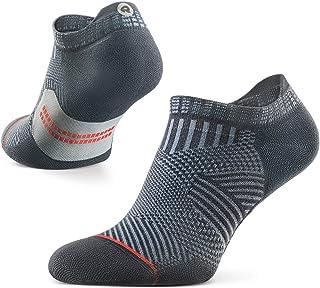 Accelerate - Calcetines Deportivos con Talón de Compresión para Hombres y Mujeres, Running, Anti-ampollas y con Soporte de Arco (1 par)