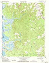 YellowMaps Norge VA topo map, 1:24000 Scale, 7.5 X 7.5 Minute, Historical, 1965, Updated 1973, 27 x 22.1 in