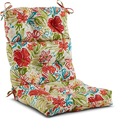 44x 21 in Home Office Chair Cushion Outdoor Garden High Back Patio Seat Pad Soft