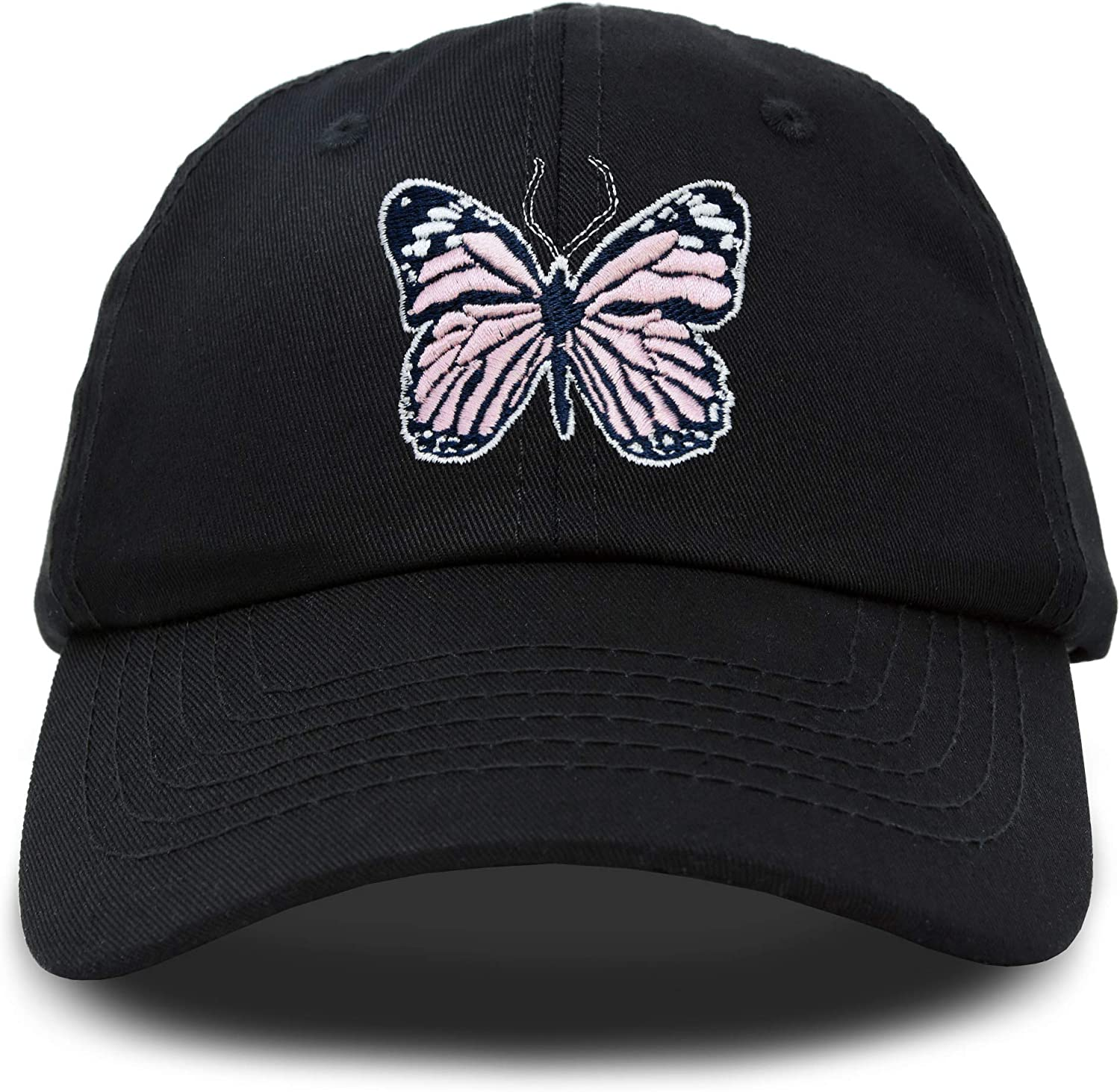 DALIX Pink Butterfly Japan's largest assortment Seasonal Wrap Introduction Hat Cute Girls Gift Cap Womens Embroidered