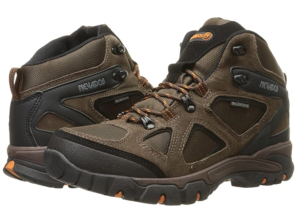 Nevados Spire WP (Dark Brown/Orange/Black) Men