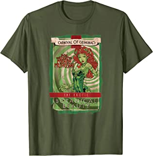 Batman Poison Ivy Botanical Beauty T Shirt T-Shirt