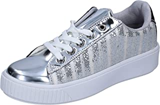 LANCETTI Trainers Womens Silver