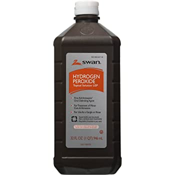 Swan Hydrogen Peroxide Topical 32 Ounces Pack of 2