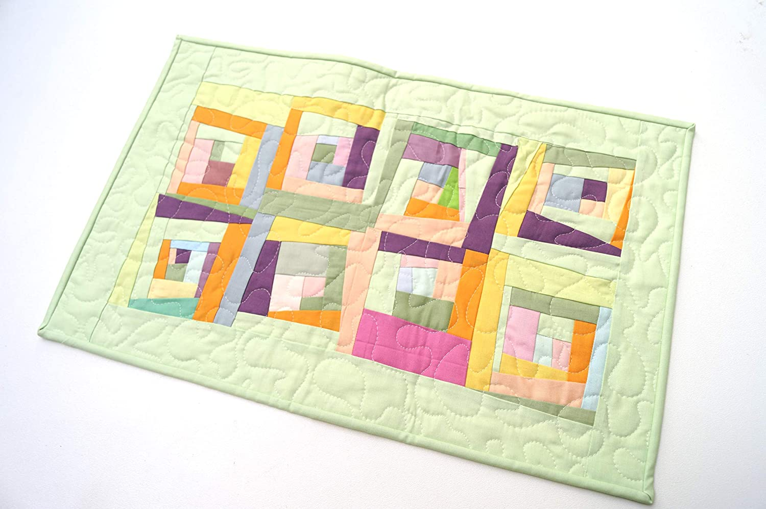 outlet Modern Quilted Fabric Cheap mail order specialty store Table or Runner Wall Hanging