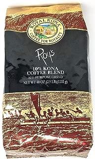 Royal Kona 10% Kona Coffee Blend, Roy's Signature Series - Ground Coffee 40 Ounce Bag