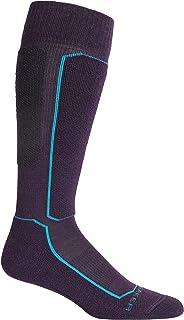 Icebreaker Siren Arena - Sujetador para mujer, color negro y nieve, Ski+ - Calcetines de lana merina para la pantorrilla, Mujer, color
