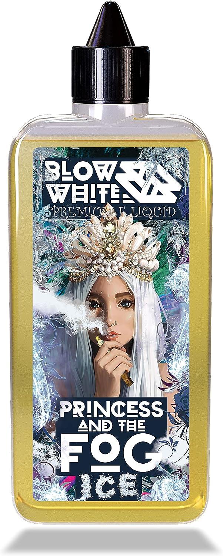 Blow White Zumo de Vape Premium   Líquido Vape de 100 ml   Princesa & La Niebla (ICE) (frambuesa y manzana) Líquidos Ecig E   Vapes de cigarrillos electrónicos   Vaping Pod E Liquid   Sin nicotina