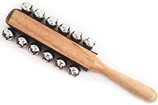 12 Bell Jingle Sleigh Bell with Wooden Handle