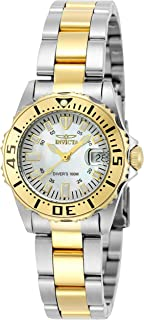 Invicta Womens Quartz Watch, Analog Display and Stainless Steel Strap 6895