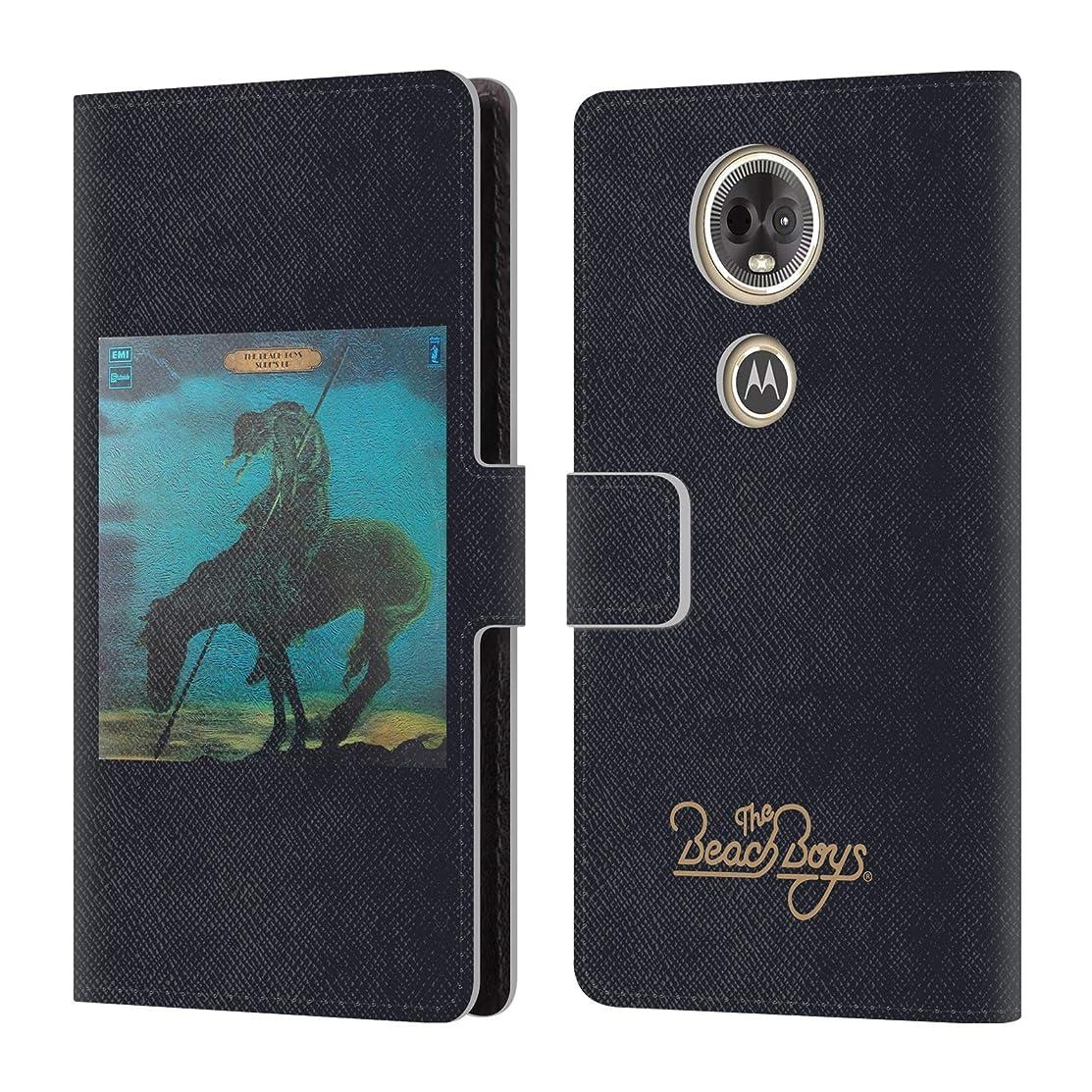 Official The Beach Boys Surfs Up Album Cover Art Leather Book Wallet Case Cover for Motorola Moto E5 Plus