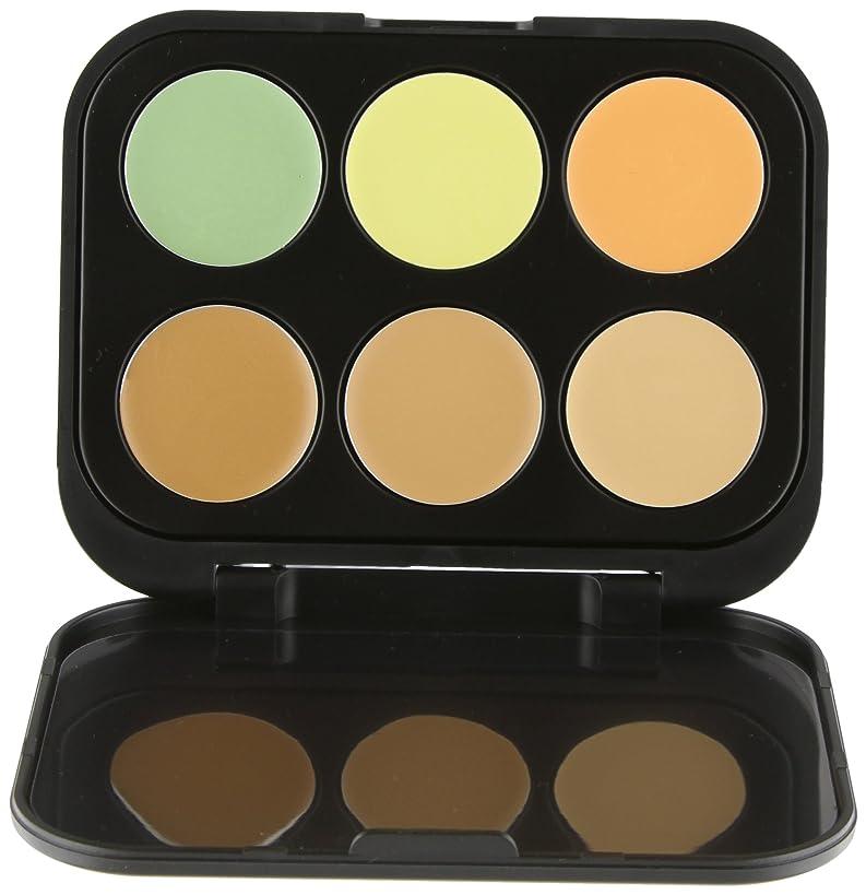 所属毛皮脊椎BH Cosmetics 6 Color Concealer & Corrector Palette - Medium