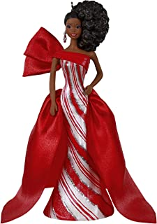 Keepsake Christmas 2019 Year Dated African-American Holiday Barbie Doll Ornament