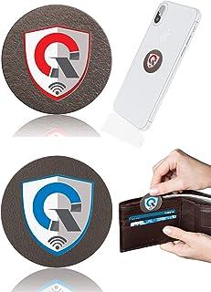 Promotion Q360 + SPocket: 1 EMF Protection Cell Phone Shield for EMR/EMF Radiation Blocker + 1 Personal EMF Protector Scal...